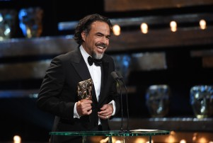 Mandatory Credit: Photo by Jonathan Hordle/REX/Shutterstock (5586123ce) Alejandro G. Inarritu EE BAFTA British Academy Film Awards, Show, Royal Opera House, London, Britain - 14 Feb 2016