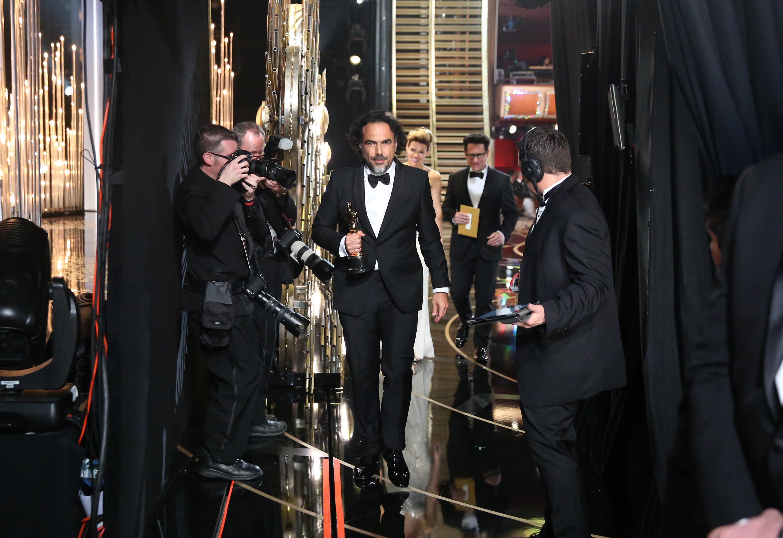 Alejandro González Iñárritu Oscars Speech