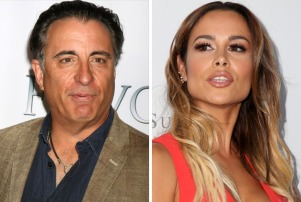 Andy Garcia Zulay Henao 2-shot