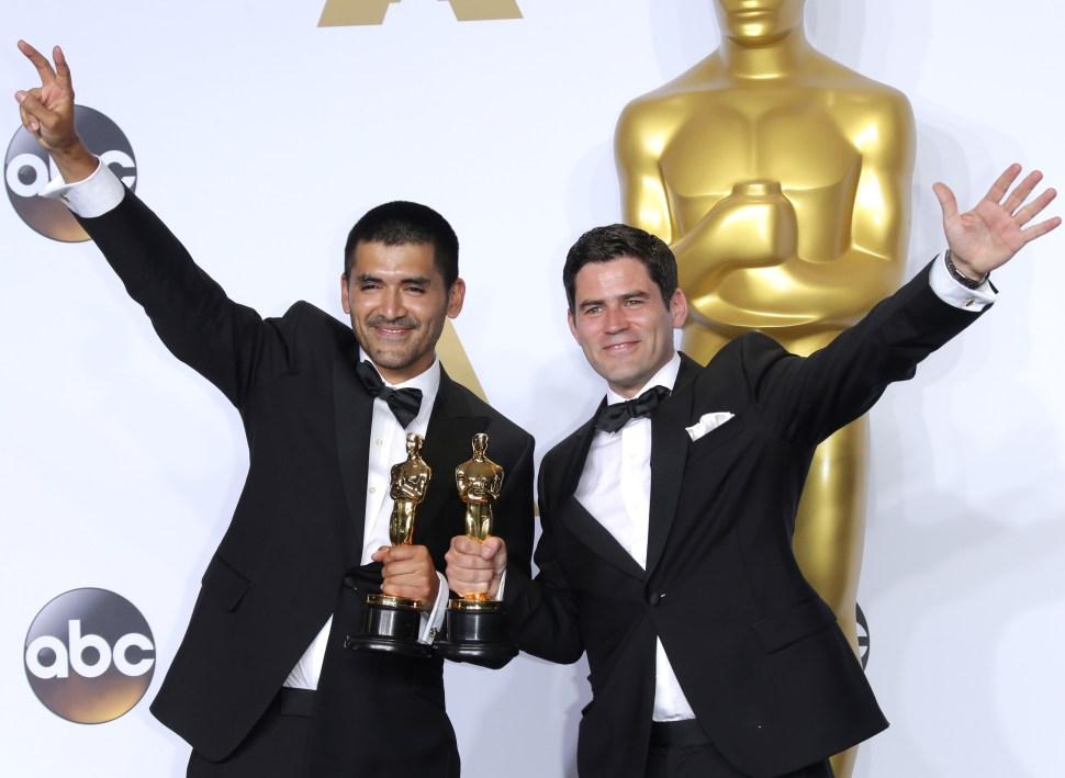 88th Annual Academy Awards, Press Room, Los Angeles, America - 28 Feb 2016