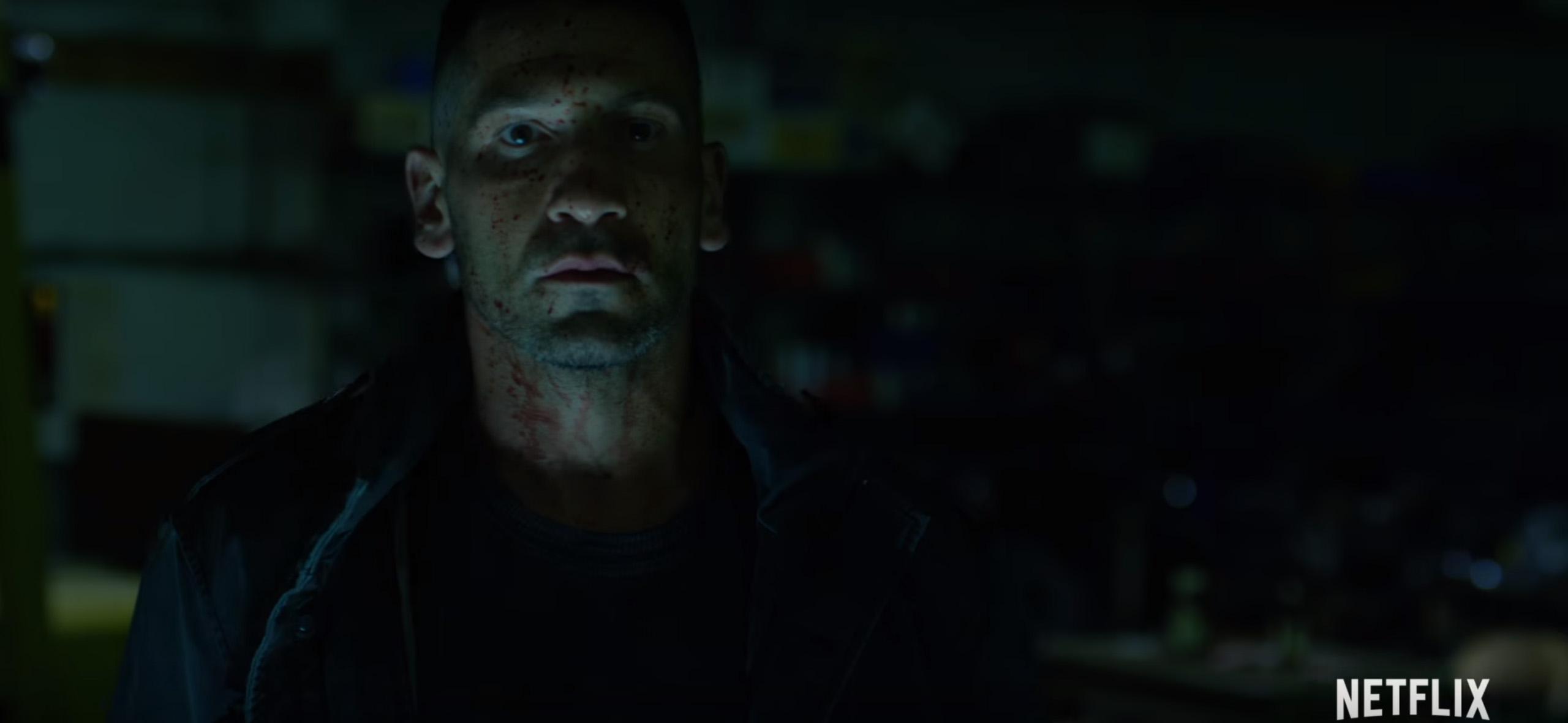 Jon Bernthal in Daredevil Season 2