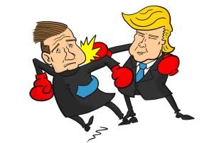 Donald Trump Ted Cruz boxing