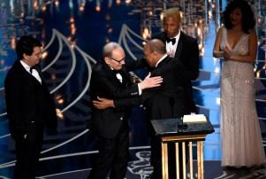 Ennio Morricone Oscar Winner Hateful Eight