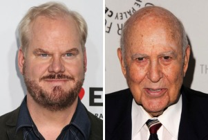 Jim Gaffigan Carl Reiner 2-shot