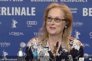 meryl streep berlin press conference