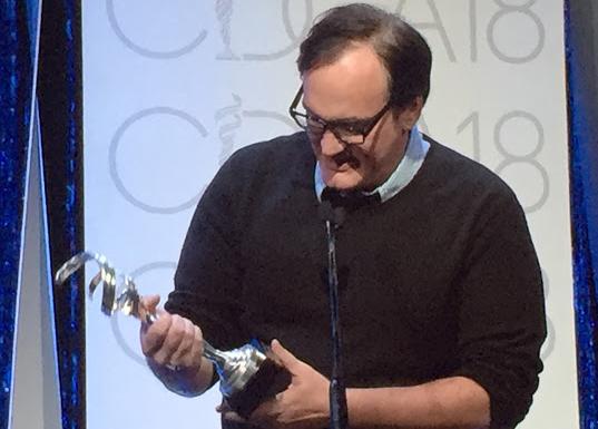 Quentin Taratino CDG awards