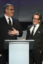 Mandatory Credit: Photo by Rob Latour/Variety/REX/Shutterstock (5586621au) Adam McKay and Charles Randolph 68th Annual Writers Guild Awards, show, West Coast Ceremony, Los Angeles, America - 13 Feb 2016