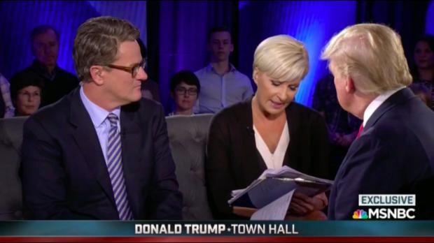 MSNBC Donald Trump town hall