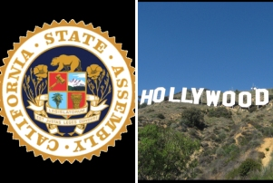 California Assembly Hollywood Sign