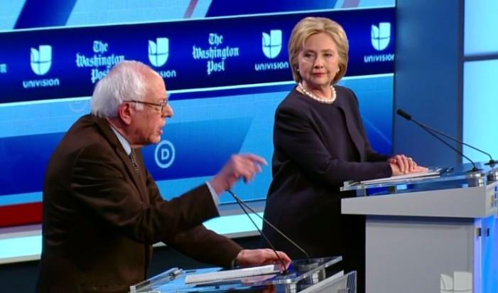 Univision Debate Clinton Sanders