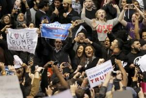 Donald Trump Rally Canceled Bernie Sanders
