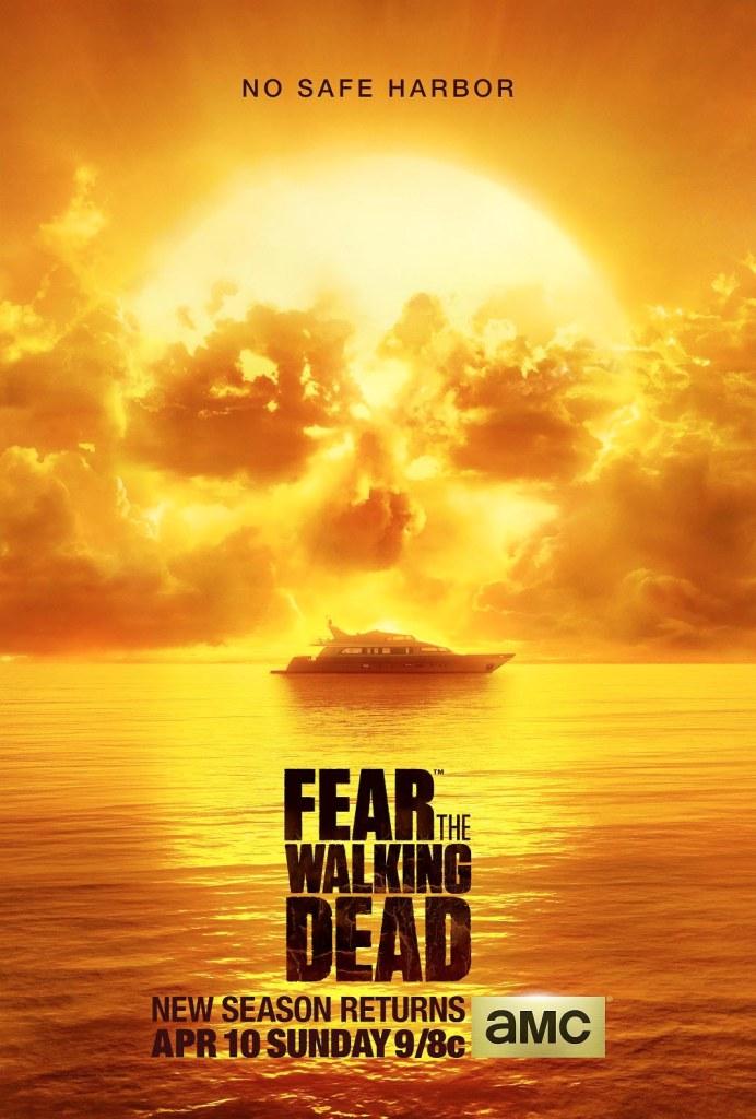 Fear the Walking Dead key art