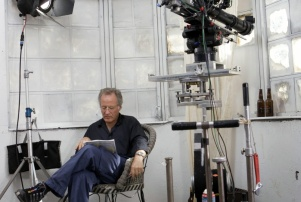 michael mann on set