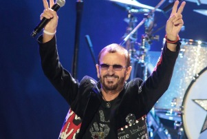 Ringo Starr in concert, Modell Performing Arts Center At The Lyric, Baltimore, Maryland, America - 28 Oct 2015