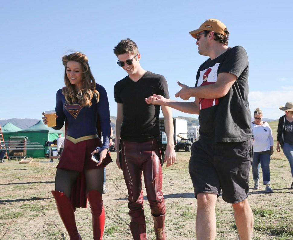World's Finest Supergirl Flash crossover 2 Andrew Kreisberg