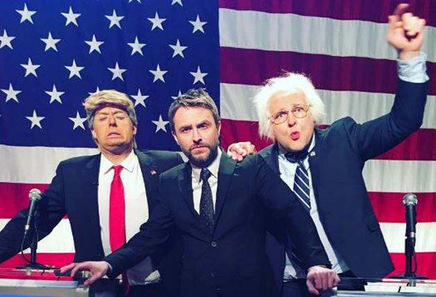 Trump and Bernie Chris Hardwicke