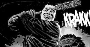 walking dead comic negan