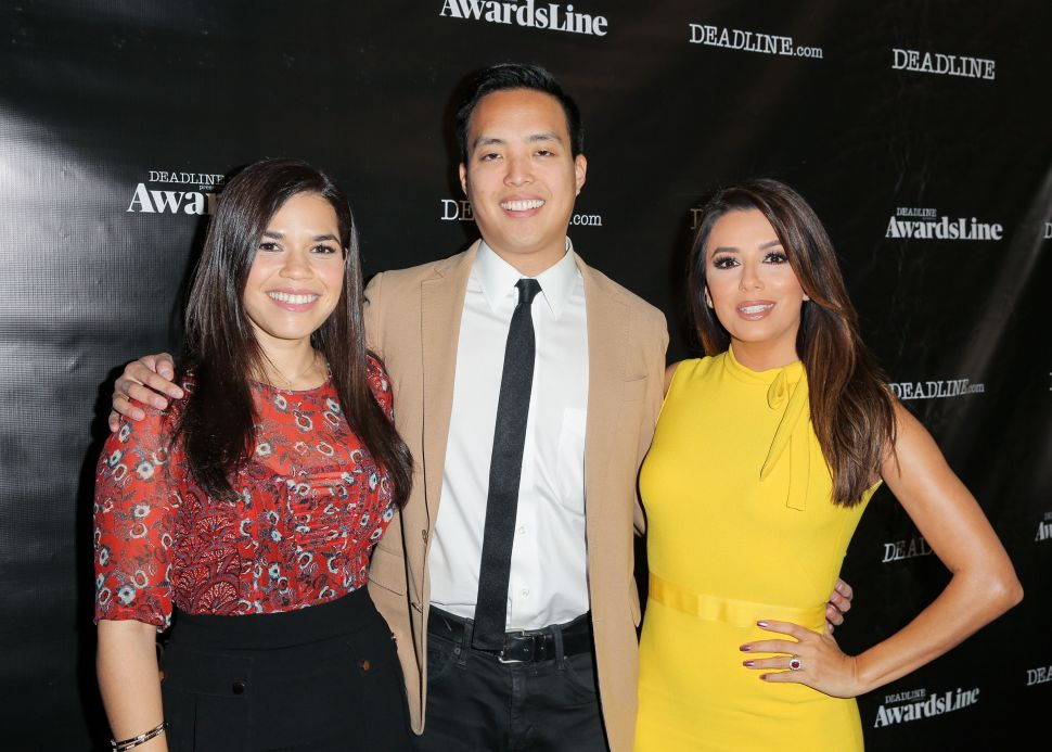 America Ferrera, Alan Yang and Eva Longoria made an appearance at Deadline's first annual Emmys Contenders event.