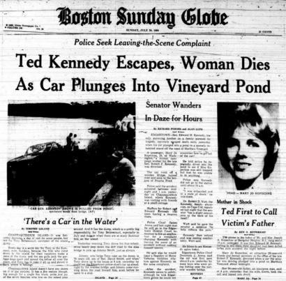 Chappaquiddick Boston Globe third
