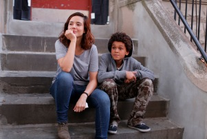 Custody: Catalina Sandino Moreno as Sara Diaz and Jaden Michael as David Diaz