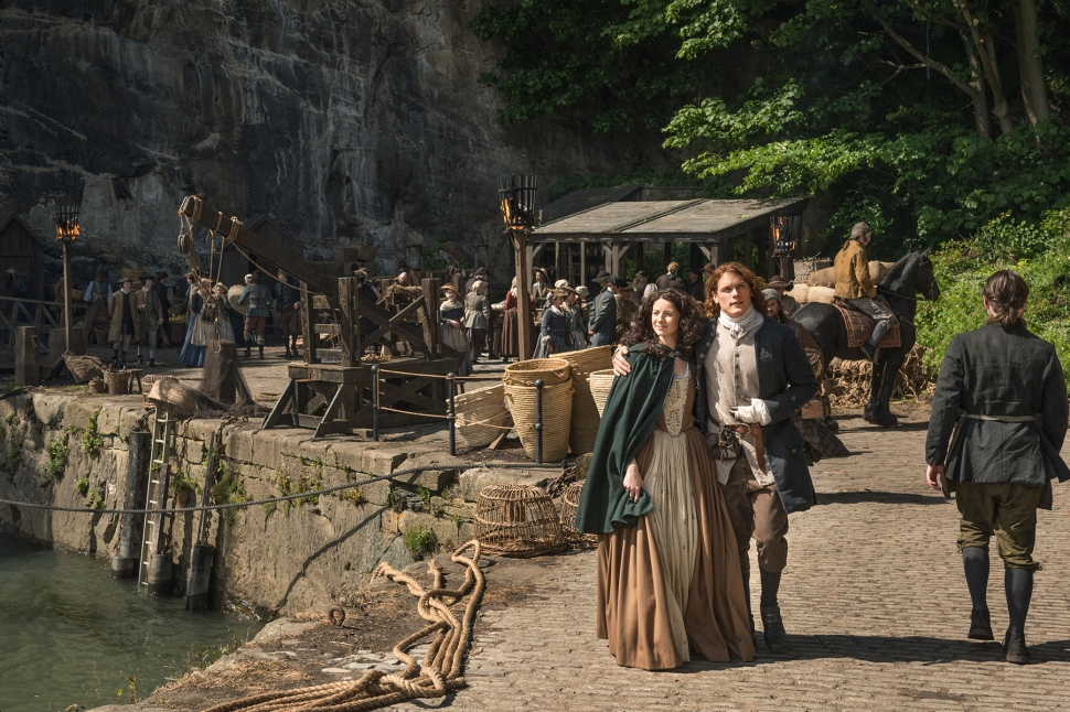 18th century lovers Jamie and Claire find themselves in a whole new world in Season 2.