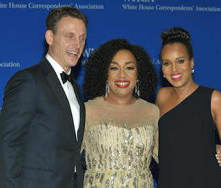 Tony Goldwyn, Shonda Rhimes, Kerry Washington