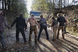 Walkers - The Walking Dead _ Season 6, Episode 16 - Photo Credit: Gene Page/AMC