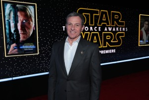"Bob Iger arrives as Walt Disney Pictures and Lucasfilm's presents ""Star Wars: The Force Awakens"" World Premiere in Hollywood, California on Monday, December 14, 2015. (Photo: Alex J. Berliner/ABImages) via AP Images"