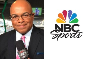 Mike Tirico NBC Sports logo