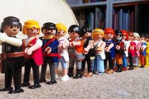 Playmobil figures, Britain - 2015