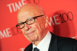 Rupert Murdoch attends the TIME 100 Gala, celebrating the 100 most influential people in the world, at the Frederick P. Rose Hall, Time Warner Center on Tuesday, April 21, 2015, in New York. (Photo by Evan Agostini/Invision/AP)