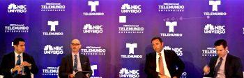 TELEMUNDO / Cesar Conde, Luis Silberwasser, Peter Blacker, Mike Rosen