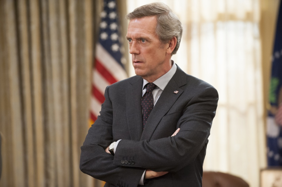 Hugh Laurie is just one of a number of top-notch guest stars featured on the show in recent seasons.