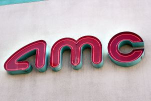 Mandatory Credit: Photo by Alex Sudea/REX/Shutterstock (4610604b) AMC Theatres Shop signs, Los Angeles, America - 04 Apr 2015