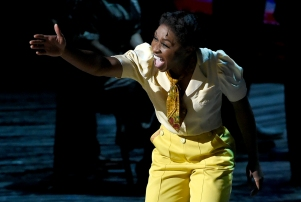 """Cynthia Erivo in '""""The Color Purple""""' at the Tony Awards on June 12, 2016."""