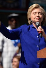 Get Out The Vote rally for Hillary Clinton, Los Angeles, America - 06 Jun 2016