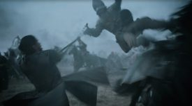 "Screen shot: HBO's Game of Thrones Episode 9 - ""Battle of the Bastards"""
