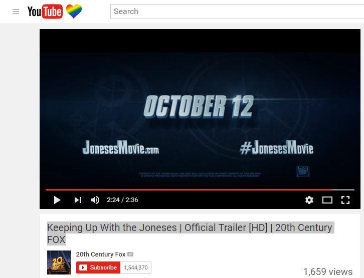 Joneses Trailer
