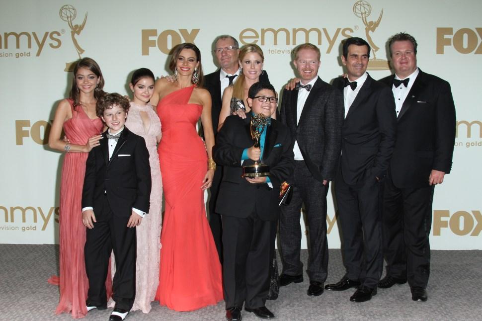 63rd Annual Primetime Emmy Awards, Press Room, Los Angeles, America - 18 Sep 2011