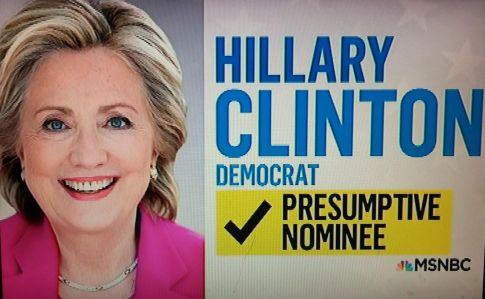 MSNBC Hillary Clinton