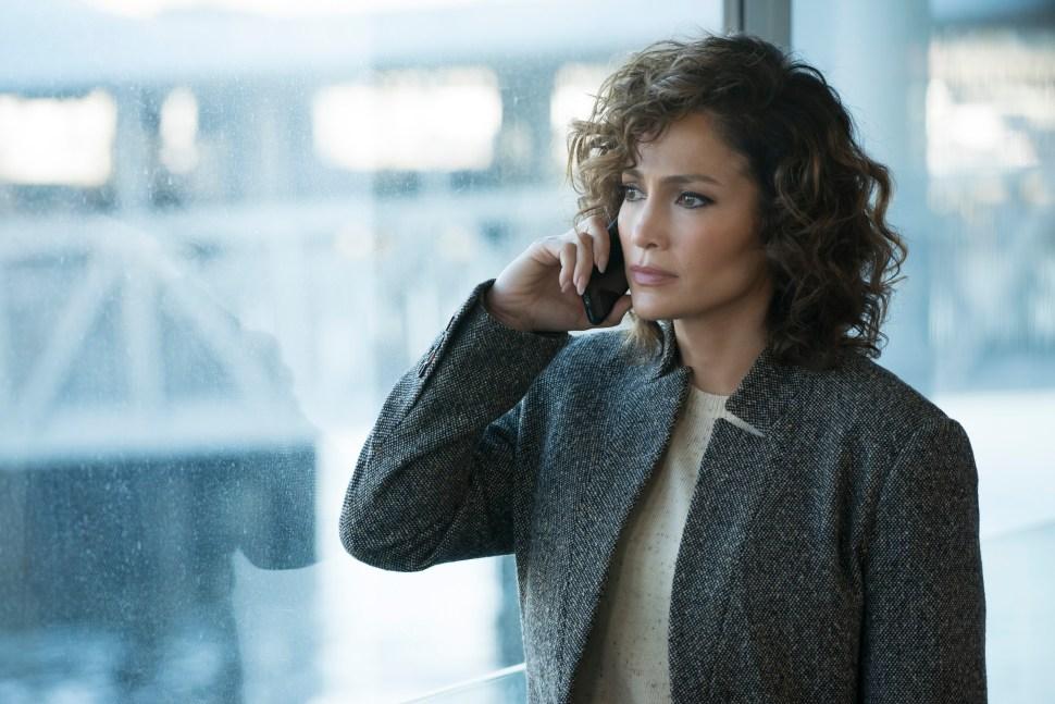 "SHADES OF BLUE -- ""One Last Lie"" Episode 113 -- Pictured: Jennifer Lopez as Det. Harlee Santos -- (Photo by: Peter Kramer/NBC)"