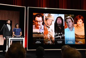 88th Annual Academy Awards Nominations, Los Angeles, America - 14 Jan 2016