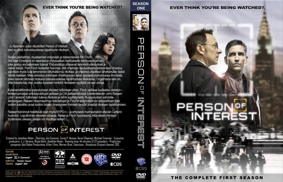 POI-first season DVD