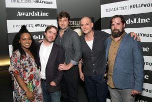 Crissle West, Derek Waters, Nathan Fillion, Deadline's Dominic Patten, Duncan Trussell
