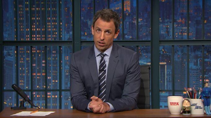 Seth Meyers Donald Trump Ban