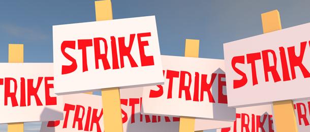 Strike IATSE logo