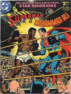Superman vs. Muhammad Ali Original Cover