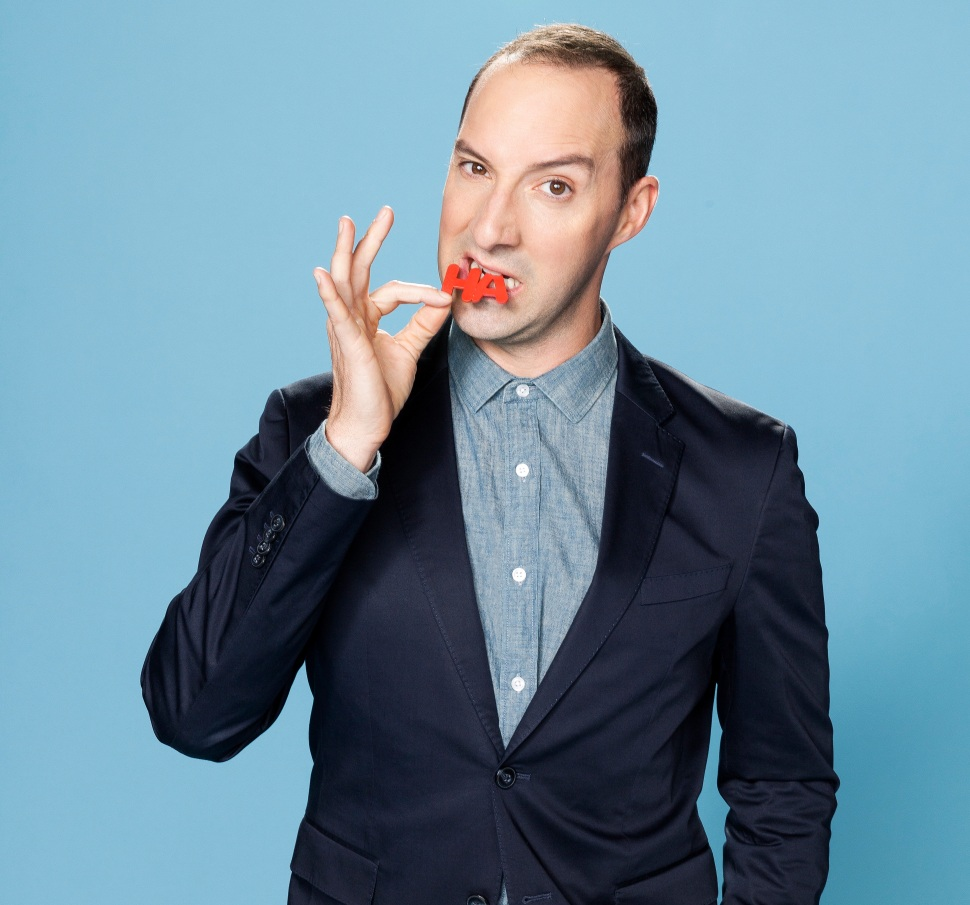 """I look at Veep, and it really is office politics.It really is what goes on in a regular workplace; the relationships and people positioning to get ahead, and lying and walking over people,"" says Tony Hale."