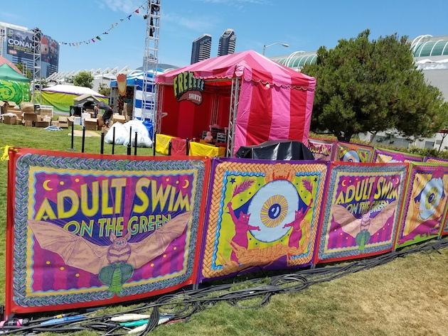 adult swim comic con 2016