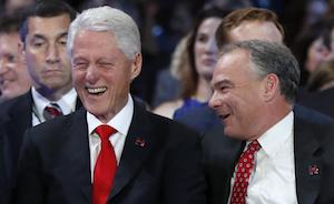Bill Clinton,Tim Kaine dnc 2016